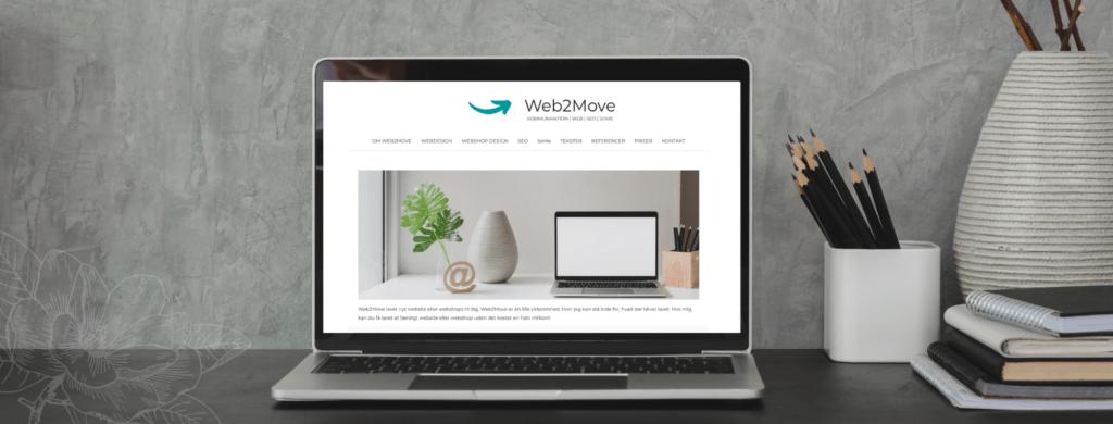 Ny hjemmeside eller webshop? Kontakt Web2Move, webbureau i Esbjerg